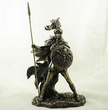 Diosa griega Atenea Figura Estatuilla Escultura Ornamento Estatua bronceada Nuevo en