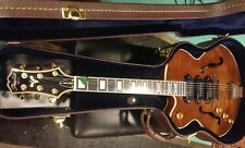 LEFTY PEERLESS Wizard Custom / Amber Archtop acoustic electric guitar OHSC
