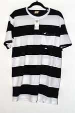 Hollister Loose Fit Striped T-Shirts for Men