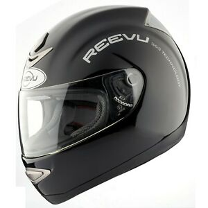 Reevu Gloss Black MSX1 Rear View Mirror Motorcycle Helmet ECER2205 DOT