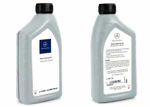 Genuine OEM Mercedes Benz Q1460001 Power Steering Fluid 1 Quart New Free Ship