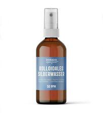 kolloidales Silberwasser 50 ppm 100 ml Spray - argento colloidale