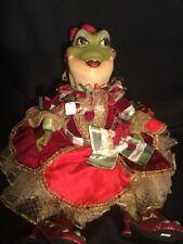 Katherine's Collection Wayne Kleski Retired Princess Frog Christmas Doll RARE