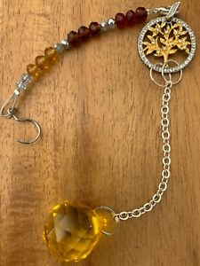 20mm yellow Chakra meditation/mindfulness focal point/Garden decoration