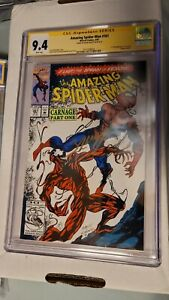 Amazing spider-man 361 cgc ss first carnage bagley symbiote
