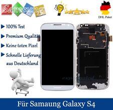 Für Samsung Galaxy S4 i9505 LCD Display Touchscreen Glas Mit Rahmen Weiß