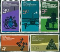 New Zealand 1972 SG978-982 Anniversaries set MNH