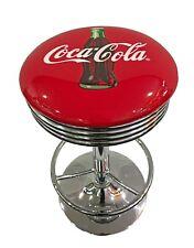 BAR RETRO DINER STOOL- COKE BOTTLE  -