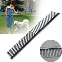 2016 Pet Dog Grooming Comb Stainless Steel Lightweight Dog Combs for Grooming ZH