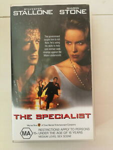 The Specialist - Sylvester Stallone and Sharon Stone VHS Free Postage