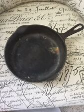 VTG Griswold Skillet No 6 699B Erie PA Small Block Cross Logo Cast Iron Pan Cook