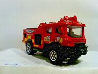 Matchbox Blaze Blitzer Red Fire Engine Truck Rescue MBX - L377