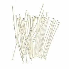 Silver Plated Head pins Jewellery Making Craft Findings 200x40mm Buy4 Get ! free