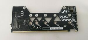 ASUS ROG DIMM.2 NVMe M.2 Adapter Extension card