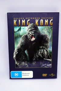 King Kong (2005) 3-Disc Deluxe Extended Edition DVD Region 4 PAL