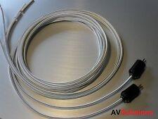 13 Mtrs. cables de altavoces (2-Pin DIN Enchufes, par) para Bang & Olufsen TVs