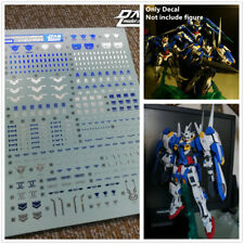 D.L quality Bronzing water Decal For Bandai MG MB 1/100 Avalanche Exia Gundam