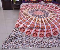 Indien Blanc Mandala Housse Confortable Hippie Couverture Literie Couette