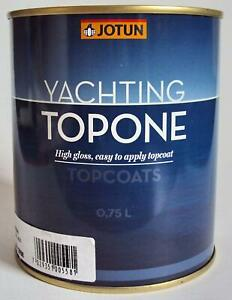 43,98€/l Jotun Yachting Topone Topcoat 750 ml, Urethanalkyddecklack hochglanz
