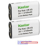 Kastar Replacement Battery for Nikon CR-V3 CoolPix 600 CoolPix 700 CoolPix 800