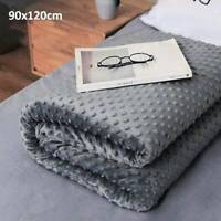 Weighted Blanket Quilt Cover Adult Sensory Therapy Deep Sleep Reduce Anxiety