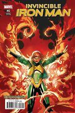 Invincible Iron Man #6 Leinil Francis Yu Ressurxion Variant Comic Book Marvel