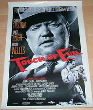 Charlton Heston TOUCH OF EVIL original Kino Plakat A1 gerollt