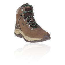 Merrell Mens Kivu Mid Waterproof Walking Shoes Brown Sports Outdoors Breathable