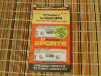 1985 TOMMY LASORDA NEWSTRACK SPORTS AUTOBIOGRAPHIES AUDIO CASSETTES