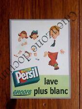 Publicité LESSIVE PERSIL LAVE ENCORE PLUS BLANC    advert