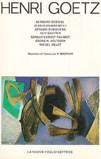 AA.VV. - Henri Goetz. Peinture - pastel - dessin - gravure 1930/1980