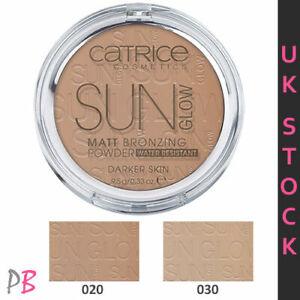 Catrice Sun Glow Matt Bronzing Powder Bronzer Medium Bronze  Contouring