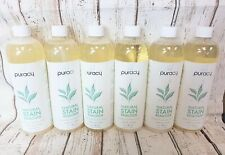 6 BOTTLES of Puracy Natural Enzyme Laundry Stain Remover With 3 Sprayer, 25 OZ