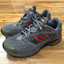 huge selection of a7c3a d2ae3 Vintage OG Adidas Climacool Trail Running Training Shoes 8.5 Grey Red Mesh