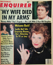 National Enquirer May 20 1986 Barney Miller - Lucille Ball Returns to TV