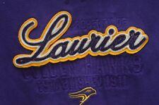 Property of Laurier Golden Hawks Authentic Apparel Hoodie Sweatshirt XL