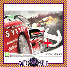 Ferrari Challenge Trofeo Pirelli Deluxe Includes Wheel (Nintendo Wii) Brand New