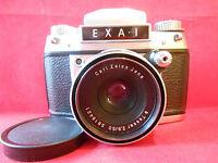 EXA 1 Objektiv Tessar 2,8/50 Carl Zeiss Jena Spiegelreflexkamera Kamera