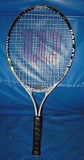 Wilson Tennis Racket Rak Attack 25 Titanium Racquet with 3 7/8� L00 Grip