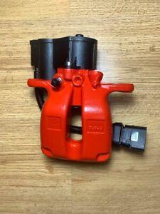 GENUINE BENTLEY CONTINENTAL 43mm Rear LEFT TRW electric brake caliper EPB IN RED