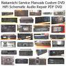 Nakamichi Service Manuals DVD Cassette Deck Schematics HiFi Audio Repair PDF CD