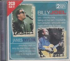 Billy Joel & James Taylor 2CD Set New Sealed
