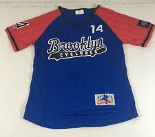 St. Francis Brooklyn Cyclones/ Terriers Baseball Team Jersey #14 Size S NWOT
