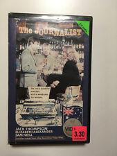 The Journalist RARE Aussie 1979 VHS Movie Jack Thompson Bud Tingwell Sam Neill