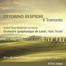 Orchestre symphonique de Laval - Respighi: Il Tramonto [CD]