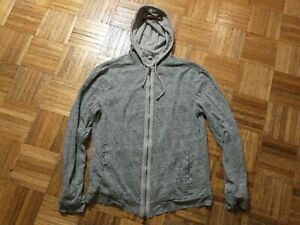 John Varvatos Collection linen hoodie, new without tags