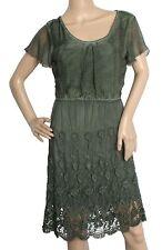 Markenlose Mini-Damenkleider im Boho -/Hippie-Stil ohne Muster
