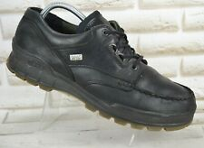 ECCO TRACK Gore-Tex Black Leather Mens Outdoor Waterproof Boots Size 12 UK 46 EU