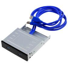 LF-3 | 2-Port USB 3.0 Frontpanel USB Steckplatz für 3,5 Zoll und 5,25 Zoll
