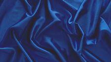 Royal Blue high shine stretch Nylon/lycra fabric/Material - FREE UK P&P